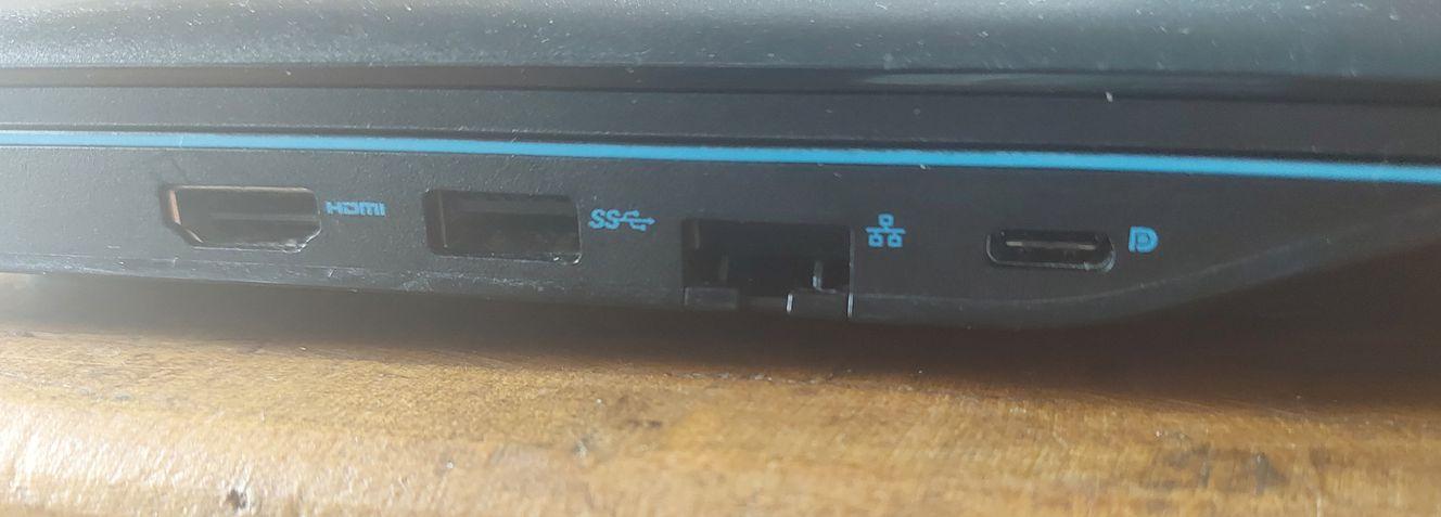 Dell G3 15 (2020) 3500-M20P conexões