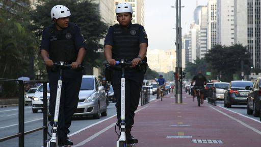 Patinetes não podem mais ser deixados na rua após novo decreto de São Paulo
