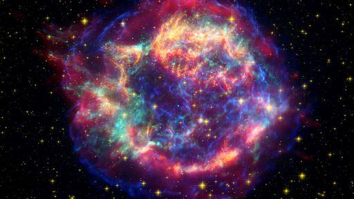 """Esta nebulosa revela papel das """"partículas fantasmas"""" em explosões de supernova"""