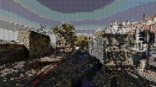 Programadores criam versão do Google Street View em ASCII