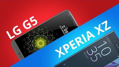 LG G5 vs Sony Xperia XZ [Comparativo]