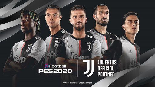Konami anuncia que Juventus será um clube exclusivo do PES 2020