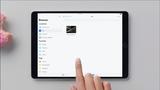 Incorpore programas de armazenamento em nuvem usando o app Arquivos do iOS