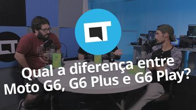 Qual a diferença entre o Moto G6, G6 Play e G6 Plus