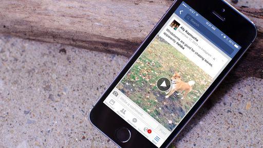 Facebook está testando reprodução automática de vídeos com som