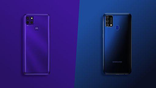 Moto G9 Power vs. Galaxy M21s: qual celular com bateria grande vale a pena?