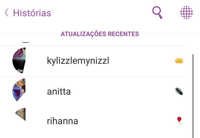 Contas verificadas Snapchat