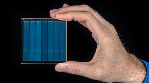 Project Silica   Microsoft cria peça de vidro para o armazenamento de dados