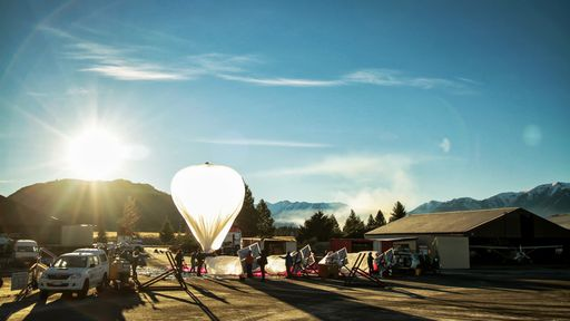 """Balões do Project Loon agora são """"pilotados"""" por Inteligência Artificial"""