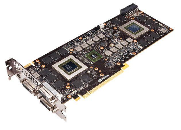 Nvidia GTX 690 - Duas GPUs GTX 680 combinadas em uma única placa