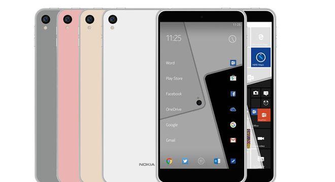 Novos smartphones da Nokia