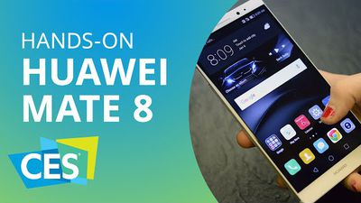 Huawei apresenta o novo Mate 8 [Hands-on | CES 2016]
