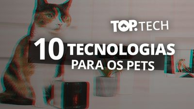 10 gadgets high tech para cães e gatos [Top Tech]