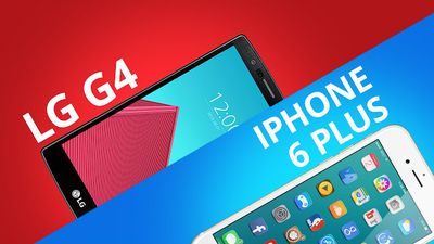 LG G4 VS iPhone 6 Plus [Comparativo]