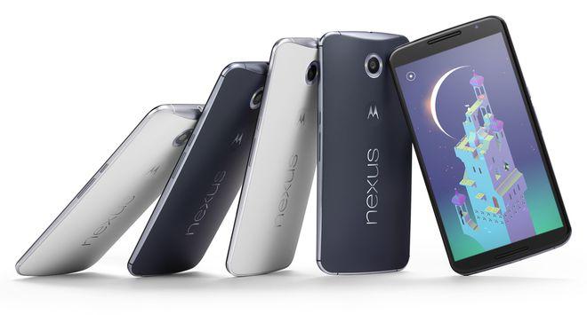 Assim como seus antecessores, o Nexus 6 foi baseado em um modelo de smartphone da fabricante responsável por sua produção. Neste caso, o dispositivo é bastante semelhante ao Moto X da Motorola