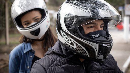 Uber estreia viagens de moto em Santo André