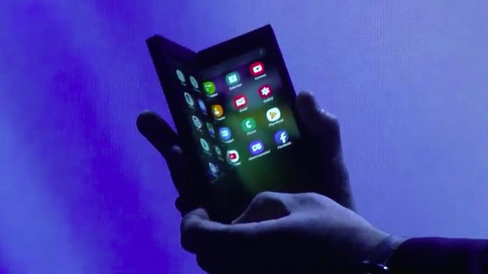 8a5d510ecf79c Celular dobrável da Samsung será chamado de Galaxy Fold