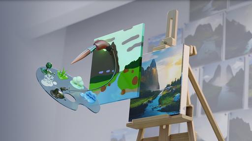 App da NVIDIA transforma rabiscos em pinturas fotorrealistas