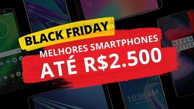 Melhores smartphones até R$ 2.500 de 2018