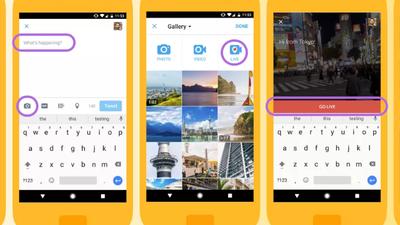 Twitter agora permite fazer transmissões de vídeo ao vivo no seu app