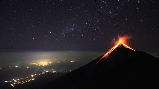 Vulcões com erupções moderadas podem provocar uma catástrofe global, diz estudo