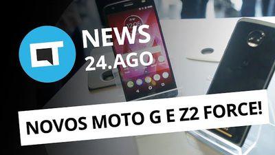 Moto G5S e Z2 Force no Brasil; Seu aparelho vai receber o Android 8? e+[CT News]