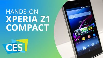 Experimentamos o Sony Xperia Z1 Compact na CES 2014 [Hands-on | CES 2014]