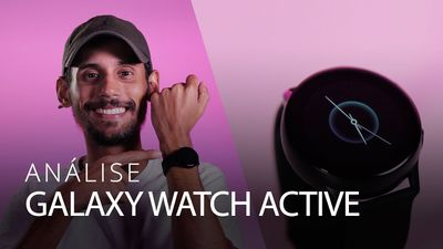 Análise | Samsung Galaxy Watch Active