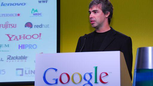 Larry Page, cofundador do motor de buscas mais famoso do mundo