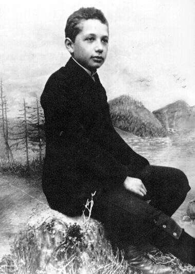 Albert Einstein jovem