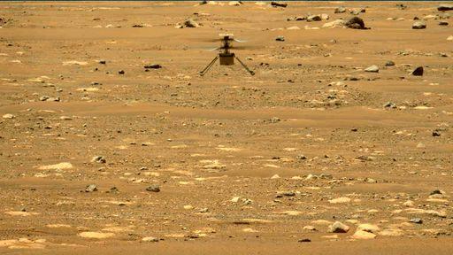 Ingenuity voa pela segunda vez em Marte, desta vez mais alto e com manobras