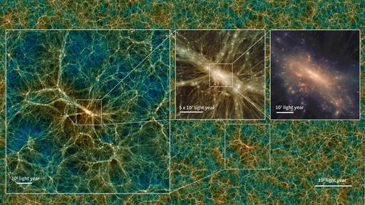 Esta é a maior e mais realista simulação do universo —e você pode baixá-la!