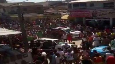 Boato no WhatsApp quase termina em linchamento no Rio de Janeiro