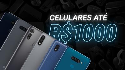 Melhores celulares até R$1000 para comprar na Black Friday