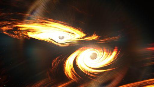 Teoria de Stephen Hawking é confirmada por colisão entre dois buracos negros