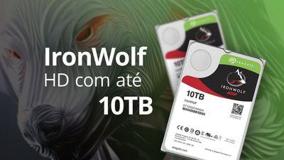 Seagate IronWolf: o HD perfeito para dispositivos NAS