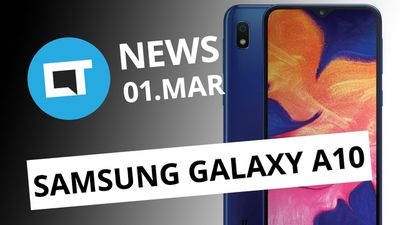Samsung anuncia Galaxy A10; Criptomoeda do WhatsApp e + [CT News]
