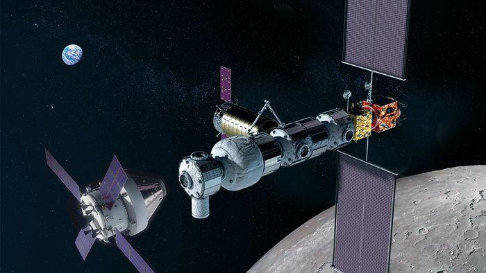 Estação lunar Gateway não será mais essencial para retorno à Lua em 2024