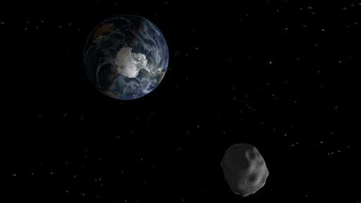 Foi por pouco! Asteroide de 100 metros de diâmetro passou a 70 mil km da Terra