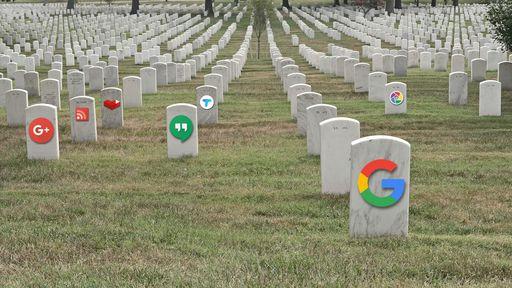 Cemitério do Google: relembre 17 serviços que a empresa já abandonou