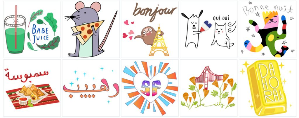 Geostickers