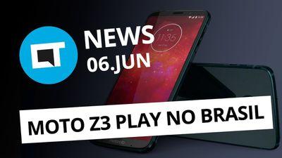 Instagram pode ter vídeos de 1 hora; Moto Z3 Play chega ao Brasil e + [CT News]