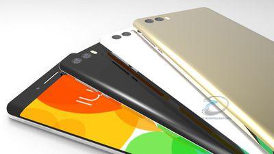 Imagens revelam que Xiaomi Mi Note 2 terá display curvo e duas câmeras traseiras
