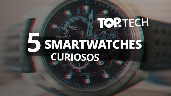 50b054587a8 5 relógios inteligentes que você provavelmente não conhece  Top Tech  -  Vídeos - Canaltech