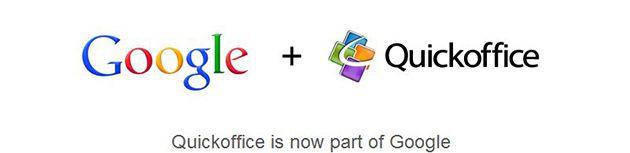 QuickOffice + Google