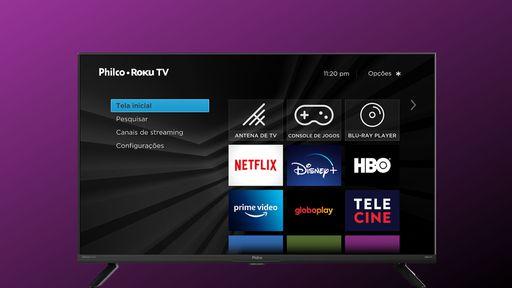 Philco lança primeira Roku TV 4K no Brasil