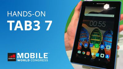 TAB3 7: o novo tablet Android da Lenovo [Hands-on | MWC 2016]
