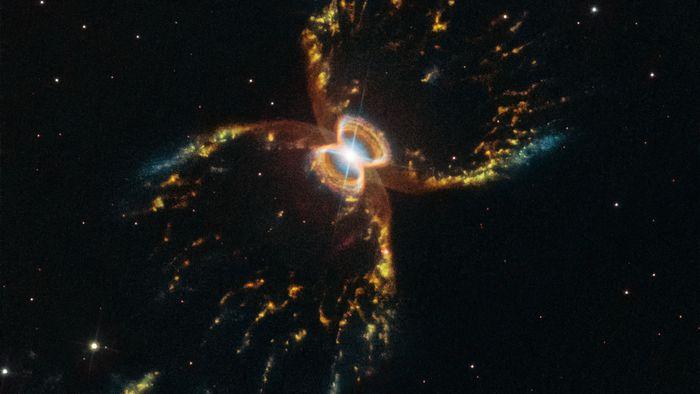 Hubble comemora 29 anos com foto inédita da Nebulosa do Caranguejo do Sul