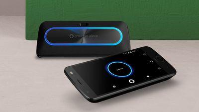 Acessório para smartphones Moto Z traz speaker inteligente equipado com Alexa