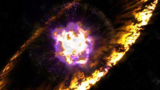 Explosão de raios-gama de uma hipernova rara é confirmada por dois estudos